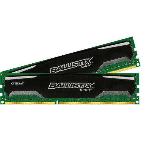 Memory 16gb ballistix 16gb ballistix sport ddr3 1600 bls2kit8g3d1609ds1s00