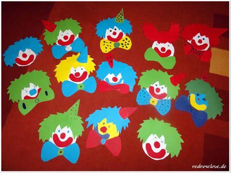 Bastelideen Zum Fasching by Wir Basteln F 252 R Karneval Clown Fensterbilder Redroselove