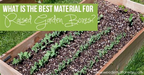 Best Material by The Best Material For Raised Garden Boxes Em Reap