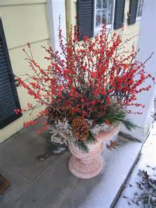 winter container garden ideas outdoortheme