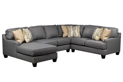 Chamberly 4 Piece Sectional W Laf Chaise Living Spaces