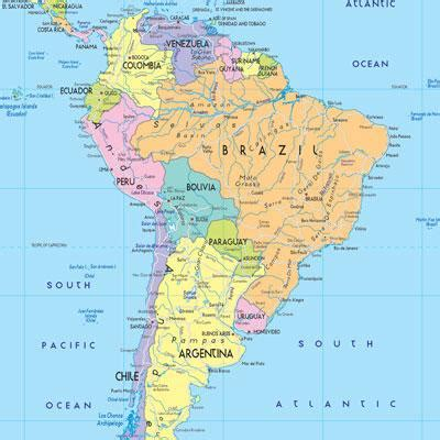 map of south american countries countries of south america map quiz