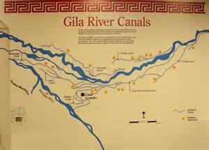 arizona canal map casa grande national monument coolidge arizona ancient