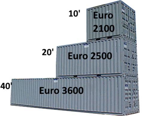 container dimensioni interne container box vendita prezzi listino offerta