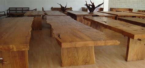 tavoli legno rustici tavoli rustici in teak