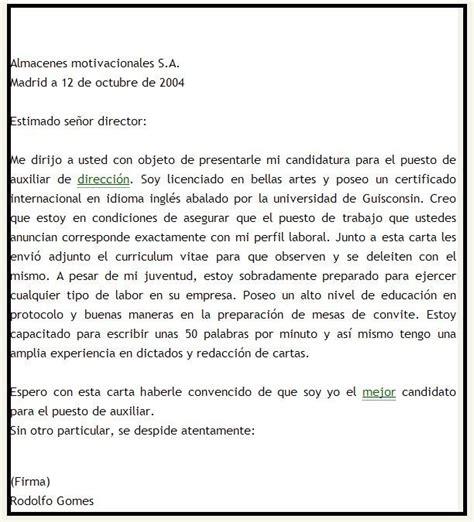 ejemplos de carta de motivacin laboral ejemplos de carta de despido laboral modelos de cartas y ejemplos