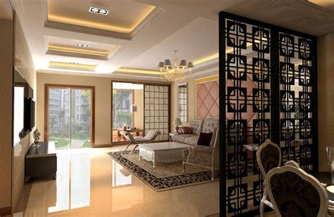 Dining And Living Room Divider Ideas Simple Floor To Ceiling Room Dividers Design For Modern