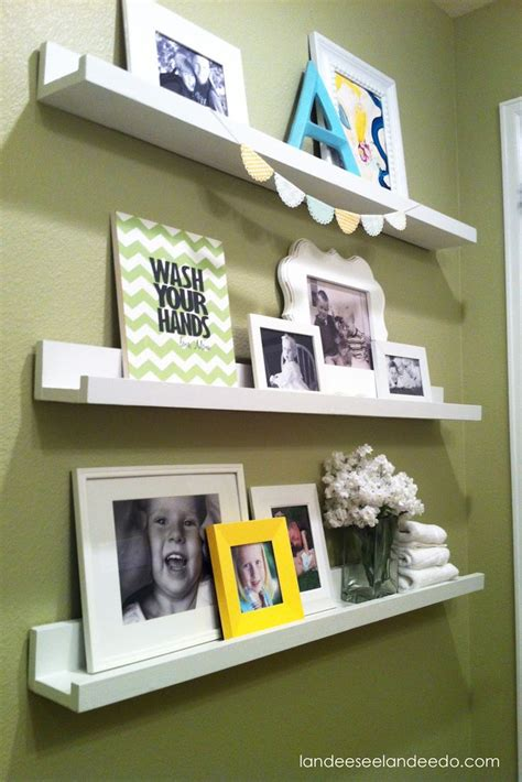 bedroom display shelves bathroom ledges display kids artwork shelves for