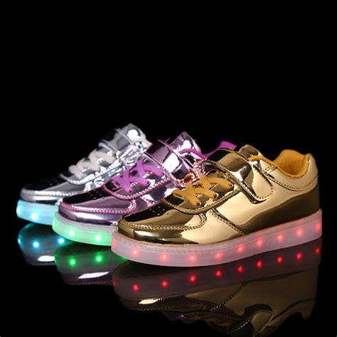 energy light shoes boys children sports led shoes light luminous