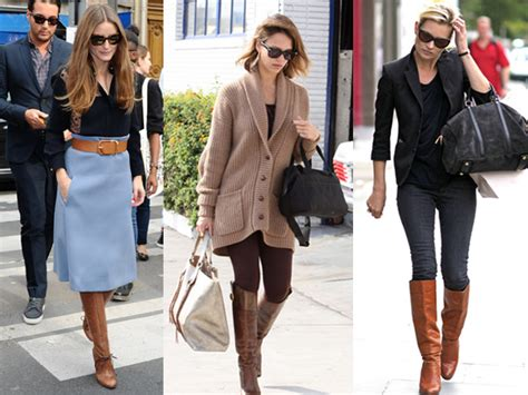 18 show us what to wear with brown boots