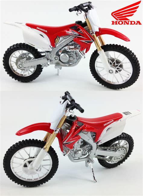 diecast motocross bikes honda crf 450 1 18 diecast model motocross bike