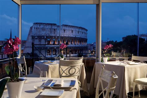 Roof Top Bars In Rome by Mangiare In Terrazza A Roma La Grande Bellezza Le