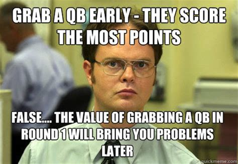 Draft Day Meme - the extra period 2013 fantasy football guide in memes