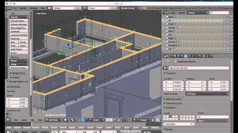 blender architecture blender architecture 2 visualisation dxf modeling roland