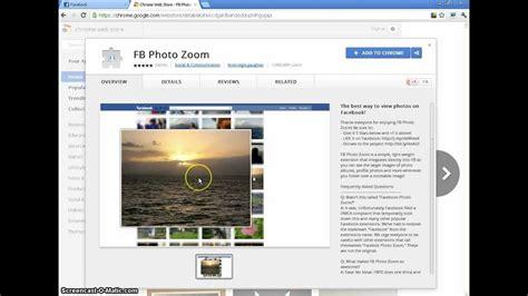 fb zoom fb photo zoom for google chrome