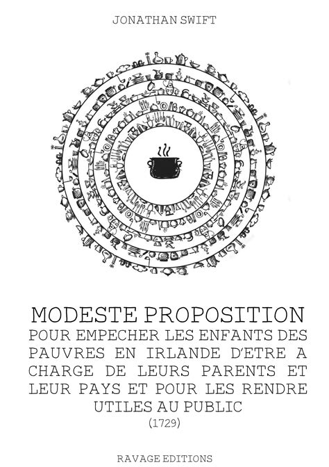 Modeste proposition – Jonathan Swift | Ravage Editions