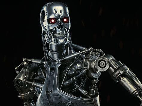 terminator t 800 endoskeleton maquette