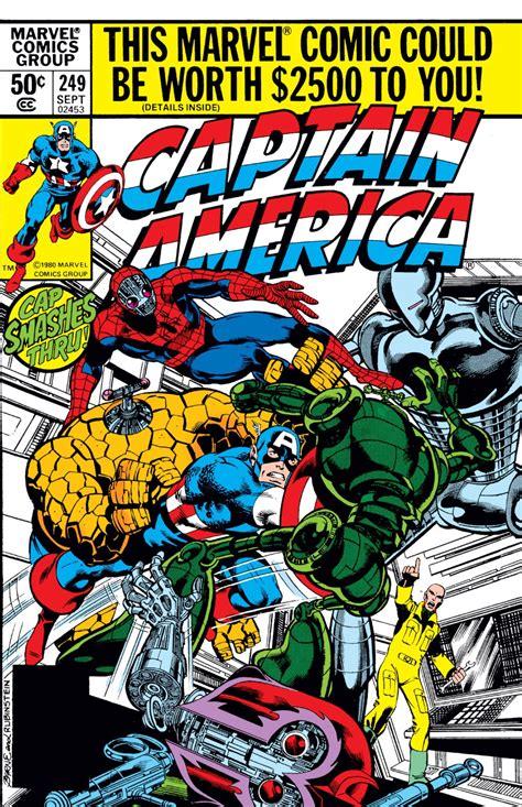 Captain America Marvel America 1 captain america vol 1 249 marvel database fandom