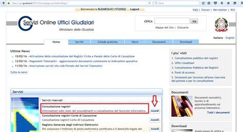 ricerca ufficio giudiziario estrarre il duplicato informatico dal portale dei servizi
