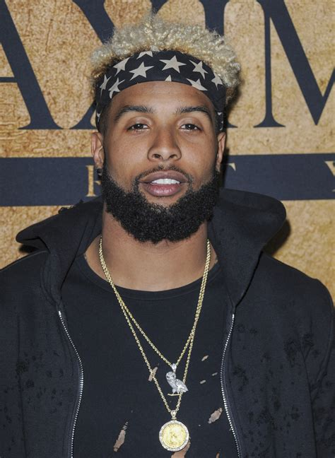 maxim hosts 2016 superbowl party odell beckham jr at the