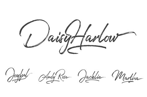 Wedding Fonts For Photoshop by Handwritten Font Font Modern Calligraphy