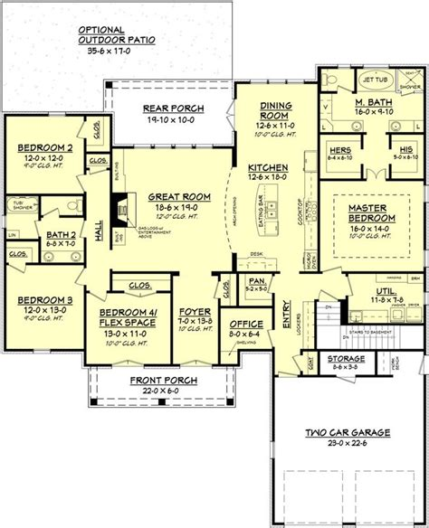 house plans open floor plans 25 best ideas about open floor plans on open