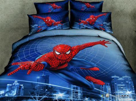 spiderman bedding spider man 3d comforter covers queen size bule doona duvet