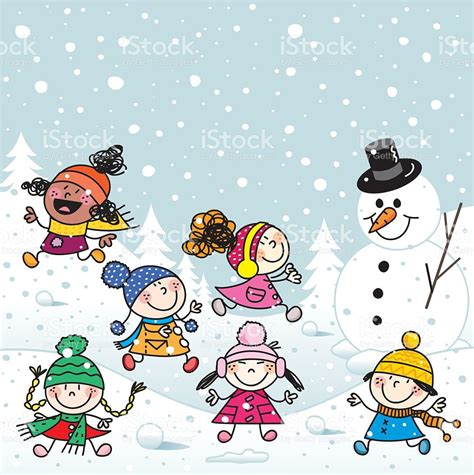 clipart neve snow clipart child snow pencil and in color snow clipart