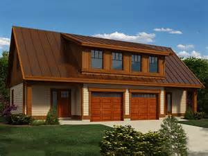 2 Car Garage Plans With Loft by Preview