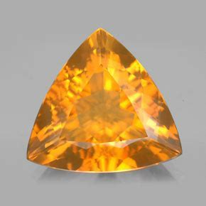 8.8 carat Trillion 17.6x17.4mm Natural and Untreated Fire