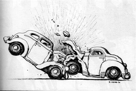 wrecked car drawing charming how to draw a car crash photos electrical