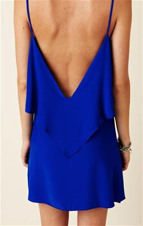 Clothes My Back Lovin by Moon Silk Summer Lovin Dress In Blue Cobalt Lyst