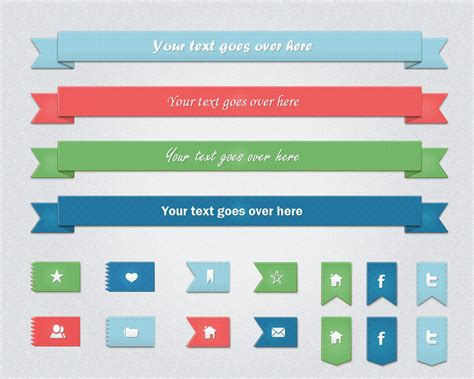 templates banners psd 70 best free ribbons psd vector files download