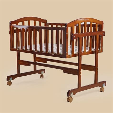 Quality Baby Cribs Quality Baby Crib Safe Solid Wood Baby Bed Infant Balance Swing Bed Newborn Baby Cot Bed