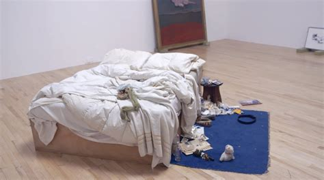 on my bed tracey emin s my bed at tate britain youtube
