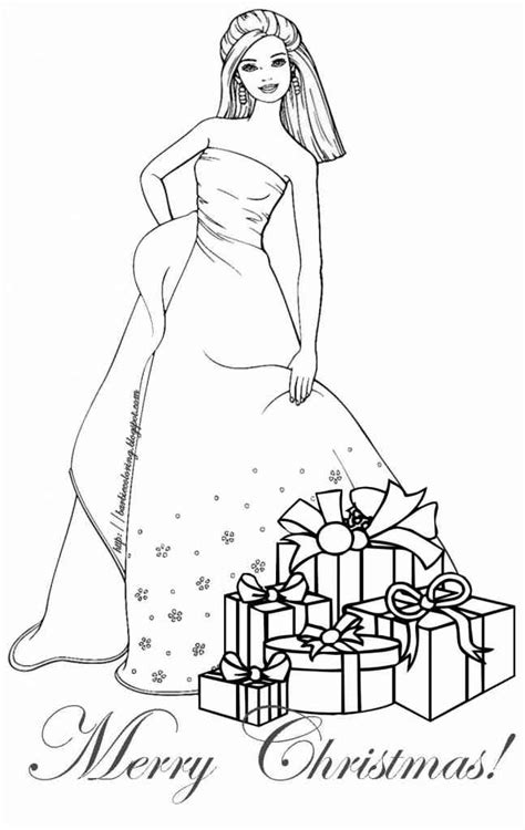 christmas coloring pages for one year olds barbie 28 ausmalbilder