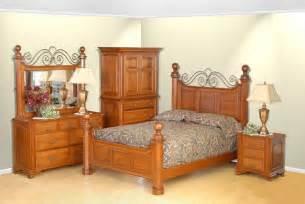 amish oak bedroom set