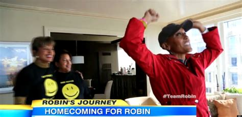 robin roberts home robin roberts home from hospital following transplant video