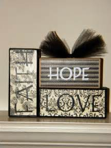 decorative letter blocks for home block crafts on pinterest wood blocks wooden blocks and
