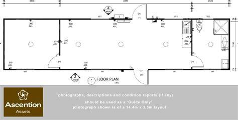 portable building floor plans portable cabin 14 4m x 3 3m modular design