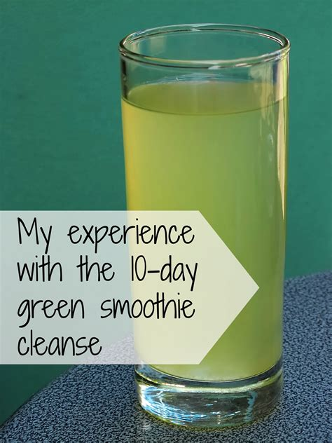 Green Smoothie Detox Cleanse by An Update On The 10 Day Green Smoothie Cleanse