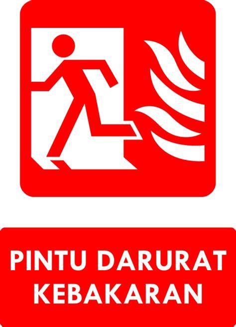 Rambu Rambu Jalur Evakuasi rambu k3 kumpulan rambu sarana evakuasi darurat kebakaran safety sign ahli k3 umum