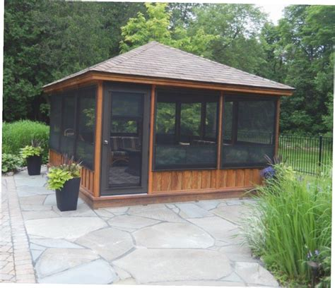 screened gazebo kits screened in gazebo kits gazebo ideas
