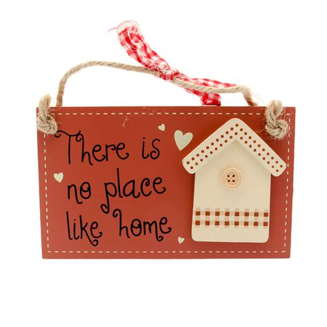 shabby chic home hanging plaque from stylish gifts