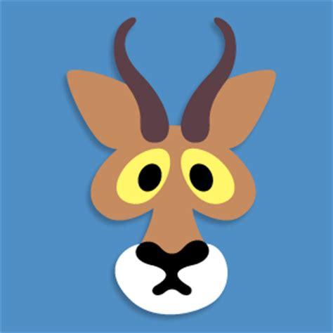 printable antelope mask template masketeers printable masks printable antelope mask