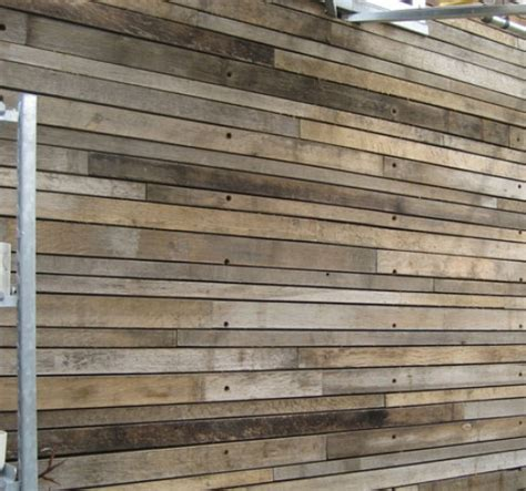 garden wall cladding reclaimed wood wall cladding in garden spaces