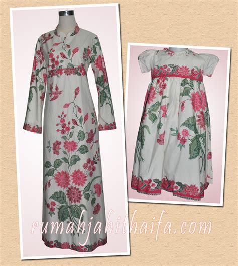 Dress Ibu Anak Baju Gamis Ibu Dan Anak