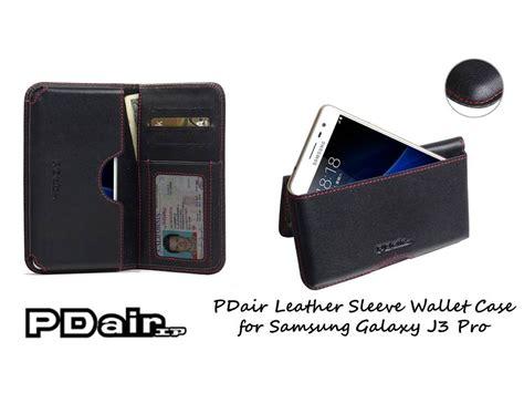 Samsung Galaxy J3 2016 Klx Leather Flip Casing Bumper Dompet Kuat pdair handmade leather flip wallet cover for samsung