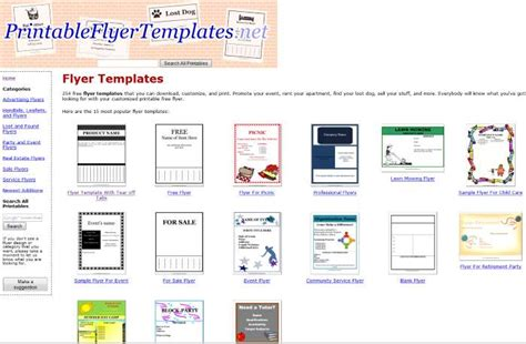 template flyer gimp download free brochure templates gimp software