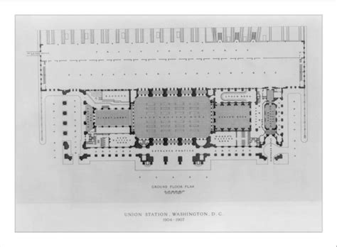 Union Station Dc Floor Plan | file dc union station historic floor plan 9739995340 jpg